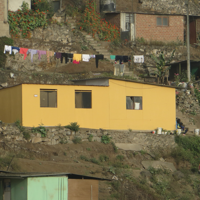 Etex and Techo partner up to improve the living conditions of families in Peru